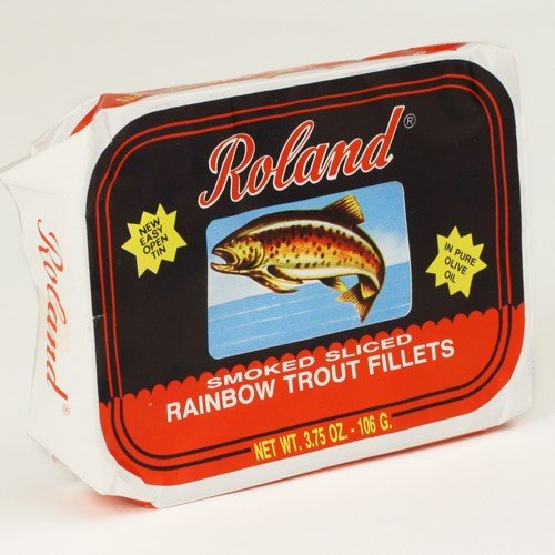 Rainbow Trout Fillets - Smoked Rainbow Trout in Olive Oil (3.75 ounce)