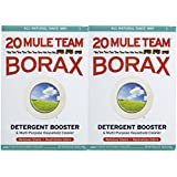 Twenty Mule Team Natural Laundry Booster & Multi-Purpose Cleaner, 65 Ounces (Pack of 2)
