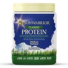 Sunwarrior - Classic Protein, Raw Wholegrain Brown Rice, Vanilla, 375 g
