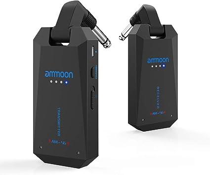 trasmettitore per chitarra wireless più cuffie