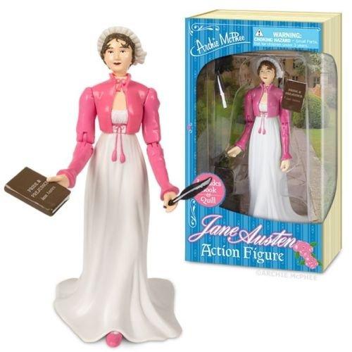 Jane Austen Action Figure novelist historys greatest