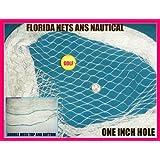 12 X 25 Fishing Nets for Golf Backstop, Hockey, Barrier, Sports, La Crosse, Soccer, Cage,