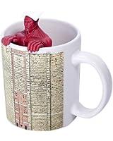 Tea strainer + mugs set of Attack on Titan super-sized giant (japan import)