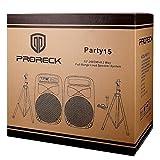 PRORECK PARTY 15 Portable 15-Inch 2000 Watt 2-Way