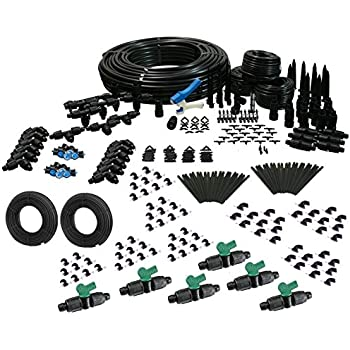 Amazon Com Deluxe Drip Irrigation Kit For Raised Bed