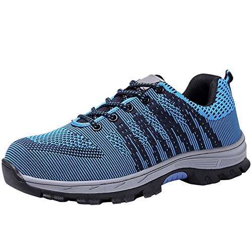 Steel Work 2 Shoes Toe Optimal Men's Safety Shoes Blue Shoes Black CtqvWXHxw