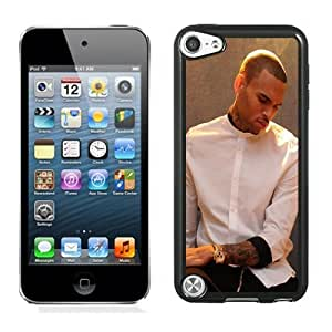 Customized$Unique Ipod Touch 5 Case Design with Chris Brown X Black Phone Case for Ipod Touch 5 5th Generation