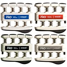 Gripmaster Prohands Special Ops Hand Exerciser (Pro Edition) Set of 4 - Light/Medium/Heavy/X-Heavy
