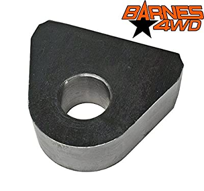 """Weld On Shackle Clevis Mount 1"""" Thick by Barnes 4WD"""