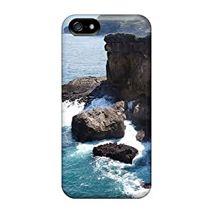 SHc17461EuwR S.N.H Awesome Case Cover Compatible With Iphone 5/5s - Cliffs