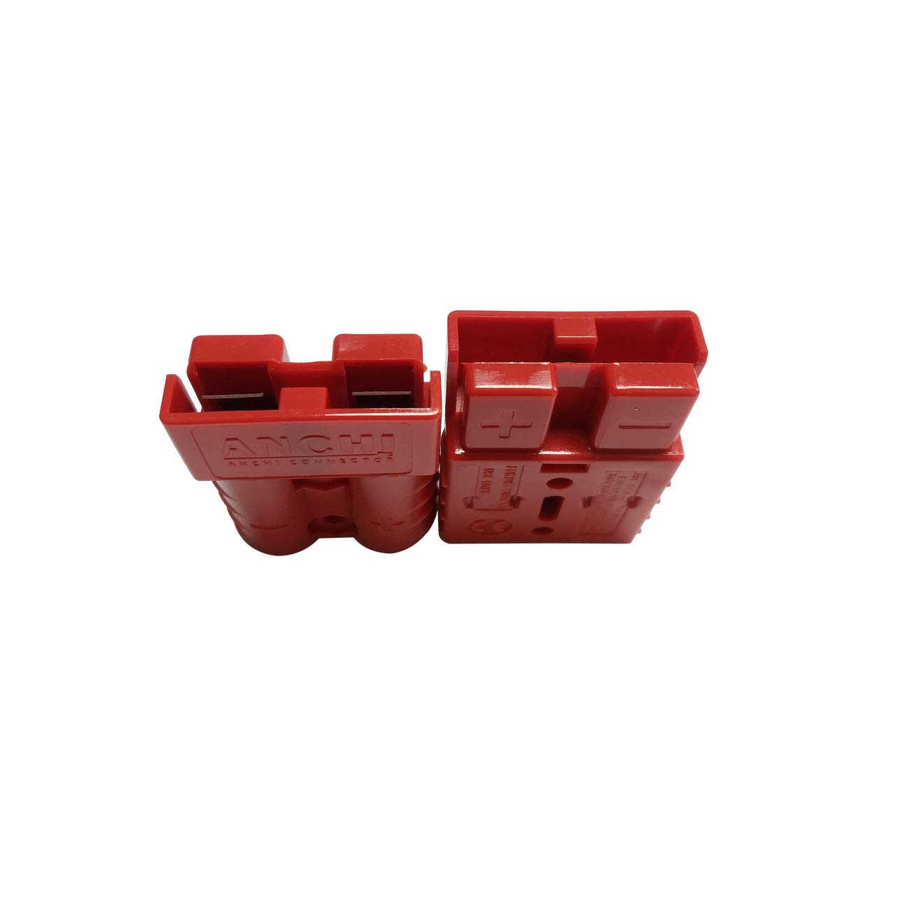 Red, 10//12awg 50Amp Power Connector Plug 50A Quick Connect Disconnect 600 V 10 Pairs 20pcs for Anderson 50Amp
