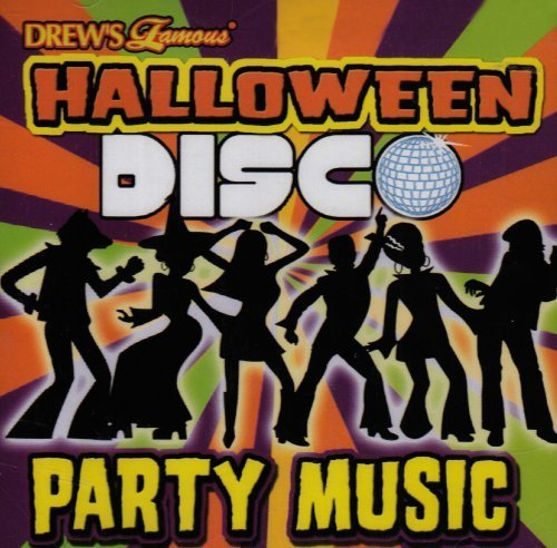 DF HALLOWEEN DISCO PARTY MUSIC CD by The Hit Crew -