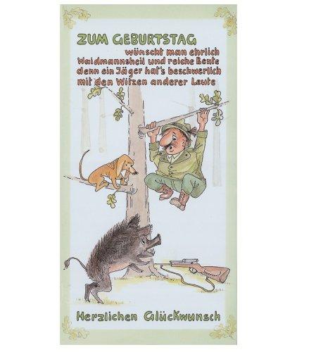 Jagd Geburtstagskarte Gluckwunschkarte Mod 3 Amazon De Sport