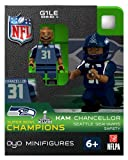 2013 Kam Chancellor Super Bowl XLVIII 48 Champions Oyo Mini Figure Lego Compatible Seattle Seahawks Limited Production