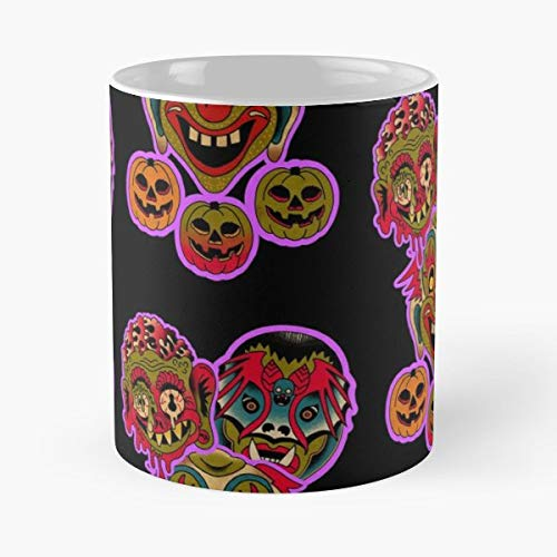 Halloween Mask Masks Leex337 - Best Gift Coffee Mugs Unique Ceramic Novelty Cup -