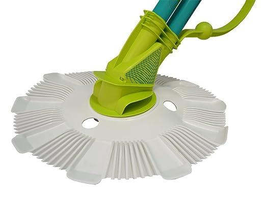 Piscinas Toi Ventosa Limpia Fondos automático para Piscinas de Obra y Desmontables Blanco 80x19x40 cm: Amazon.es: Jardín
