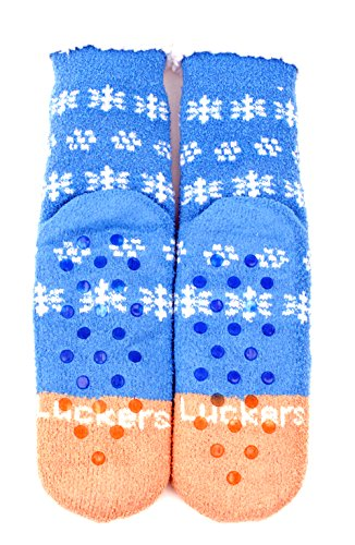 Luckers Dames Beary Soft Slipper Boots Blue