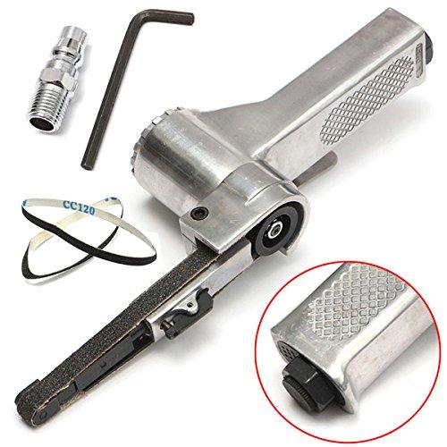 16000rpm Air Belt Sander with 10x330mm Sanding Belt Pneumatic Tool by SPK603