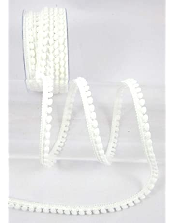 Lamps Draperies 10 Yards Cord-Edge -Piping Trim Yellow Satin -Lip Cord for Clothing Pillows White