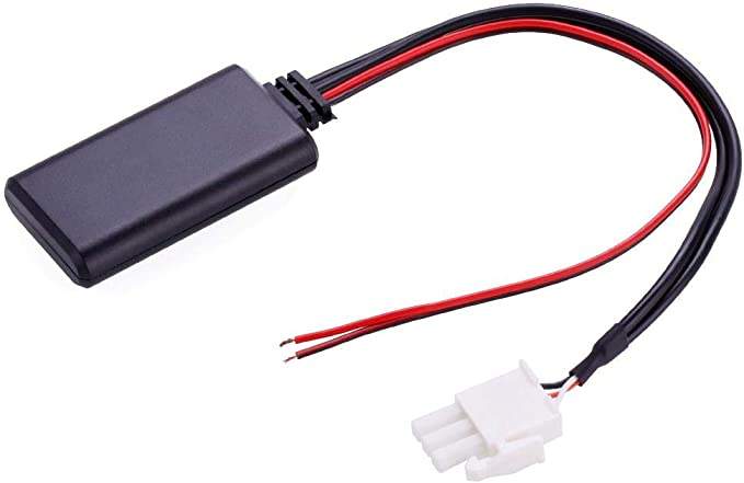 Kinbelle 12V Module Wireless Radio Stereo AUX Music Cable Adaptor For Honda GL1800