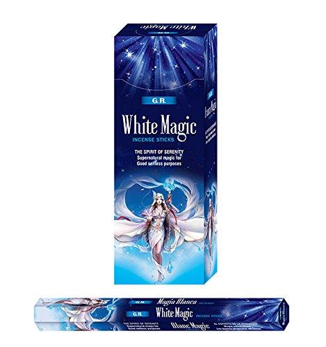 【SALE】 White White Sticks Magic B0163G3CNG Incense-120 Sticks B0163G3CNG, キソフクシママチ:e7da9a6c --- efichas.com.br