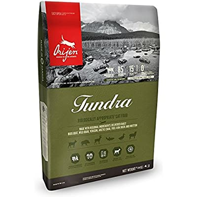 Orijen Biologically Appropriate Cat Food, Tundra, 4 Pounds