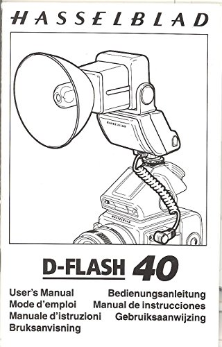 Hasselblad D-Flash 40 Original User's Manual ()