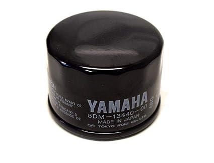 Filtro de aceite original Yamaha para revisión de moto ...