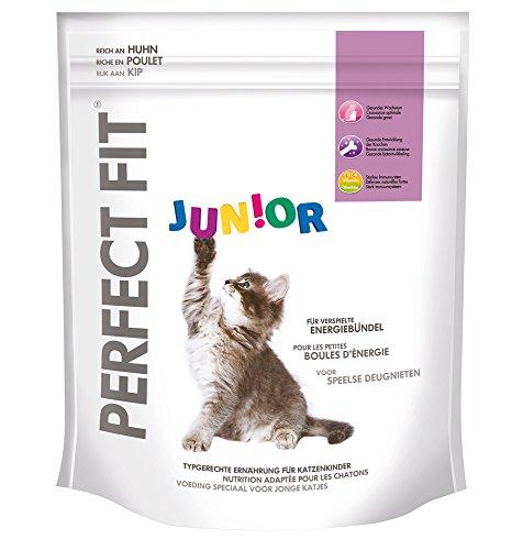 Perfect Fit Junior Katzenfutter reich an Huhn, 5 Packungen (5 x 750 g)