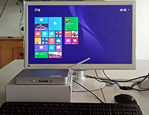 Take now PIPO X7 Windows 8.1 Smart Mini PC TV Box Media Player 2G RAM 32G ROM Intel Z3736F 2.16GHz Quad Core XBMC KODI WiFi Bluetooth - Silver
