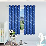 Best Star Wars Home Curtain Panels - Kotile Star Wars Themed Kids Room Blackout Curtains Review