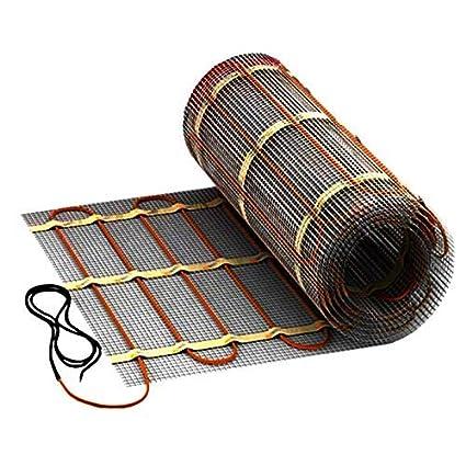 Mi-Heat D/ünnbettheizmatte 160Watt//m/² 50cm 1,5m/² Elektrische Fu/ßbodenheizung