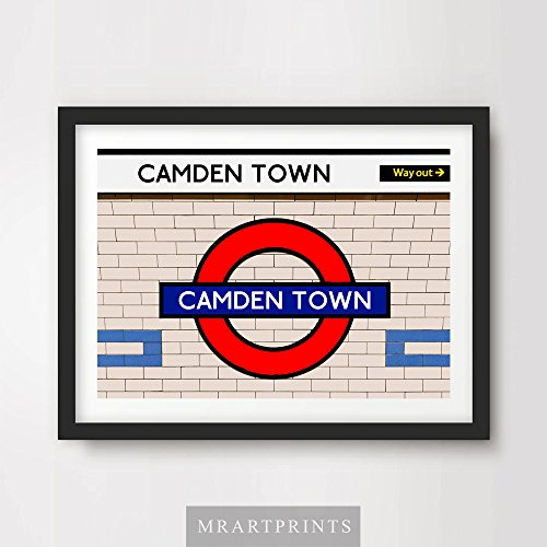 london-underground-camden-town-art-print-poster-tube-station-sign-train-railway-british-urban-city-m