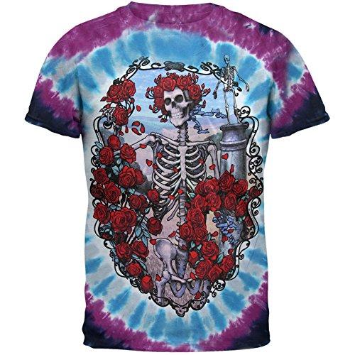 30th Street Station - Grateful Dead - 30th Anniversary Tie Dye T-Shirt - X-Large