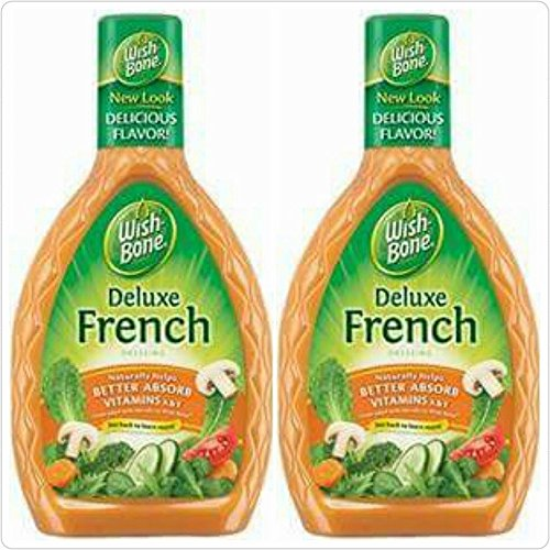 - Wish Bone Deluxe French Dressing (Pack of 2) 16 Oz Bottles