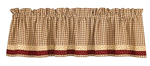 Apple Jack Country Valance, 72 Inch X 14 Inch