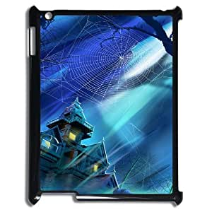 Brand New Custom Hard Cover Case with Cobweb for Ipad 2/3/4 at Hushell