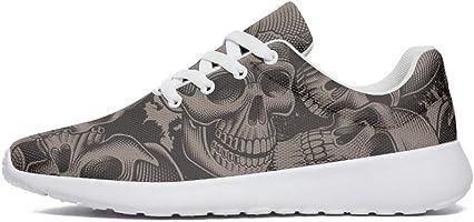 chaussures tête de mort homme 1