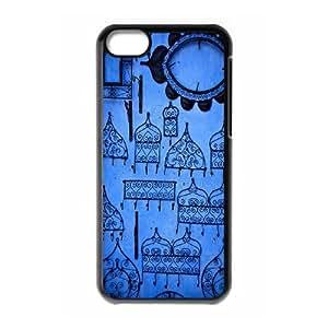 Clzpg Durable Iphone 5C Case - Azure diy case cover