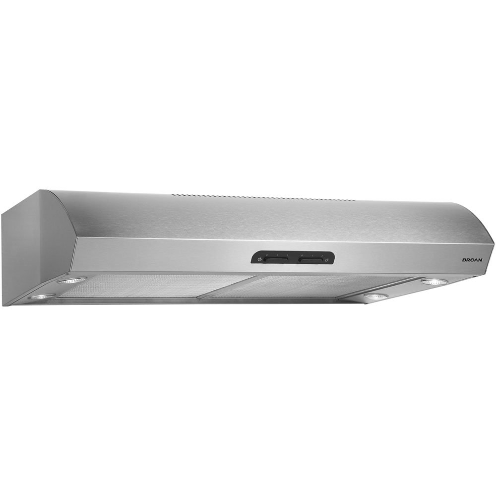 Broan QP130SS Evolution 1 30 In. Stainless Steel Convertible Range Hood