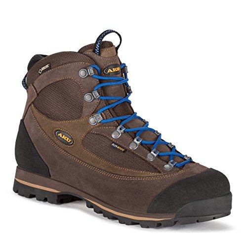 AKU scarpe da trekking da trekking 838-170 Trekker LITE II GTX Men Antrim. Arancione nero marrone