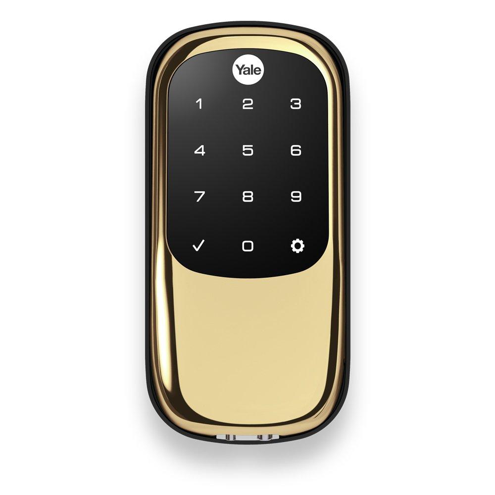 Amazon.com: Yale Real Living Key Deadbolt de pantalla táctil ...