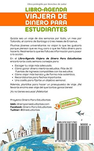 Libro-Agenda viajera de Dinero Para Estudiantes Curso 16/17 ...