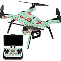 MightySkins Protective Vinyl Skin Decal for 3DR Solo Drone Quadcopter wrap cover sticker skins Watermelon Patch