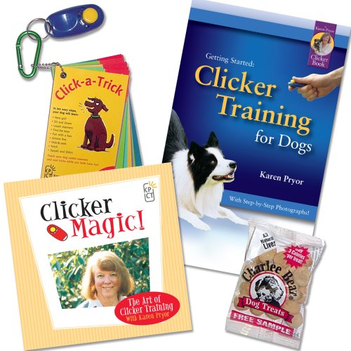 Karen Pryor, Getting Started: Clicker Training Kit for Dogs PLUS by KPCT