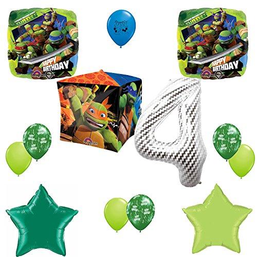 ninja turtle birthday pinata - 7