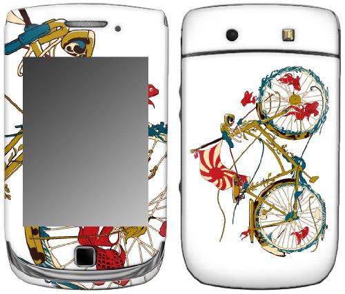 UPC 847908077723, MusicSkins, MS-SHRP100199, Sharp Shirter - Cycling Fish, BlackBerry Torch (9800), Skin