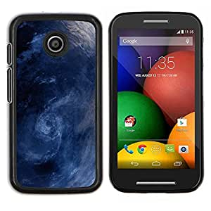 - WHIRL BLUE STORM WAVES SEA SURF - Caja del telšŠfono delgado Guardia Armor- For Motorola Moto E (1st Gen, 2014) Devil Case