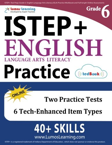 ISTEP+ Test Prep: Grade 6 English Language Arts Literacy (ELA ...