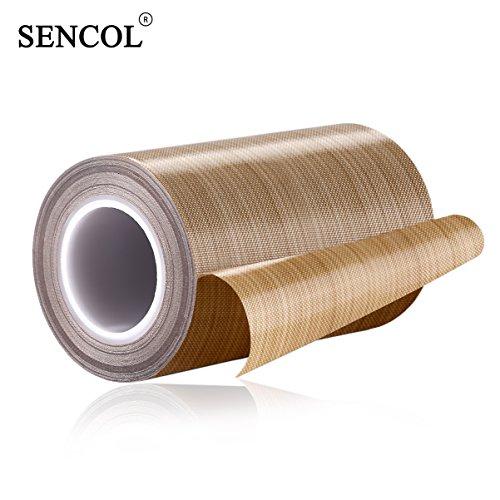 (HIGH Temperature PTFE Fiberglass TELFON Tape TELFON Cloth Tape Welding Cloth Tape Drying Machine Tape Temperature -196℃ - +300℃ (100mm))